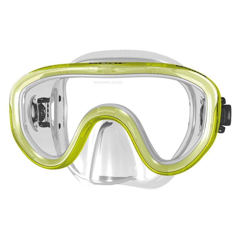 Marina 兒童浮潛面鏡 - 黃