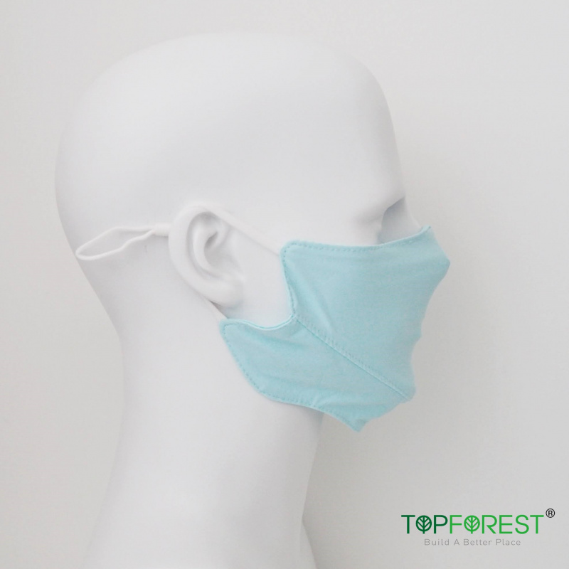 3D瘦面抗UV防曬UPF50戶外冰絲感舒爽輕薄透氣口罩(藍色2個) 延長口罩壽命/易洗快乾 M16020