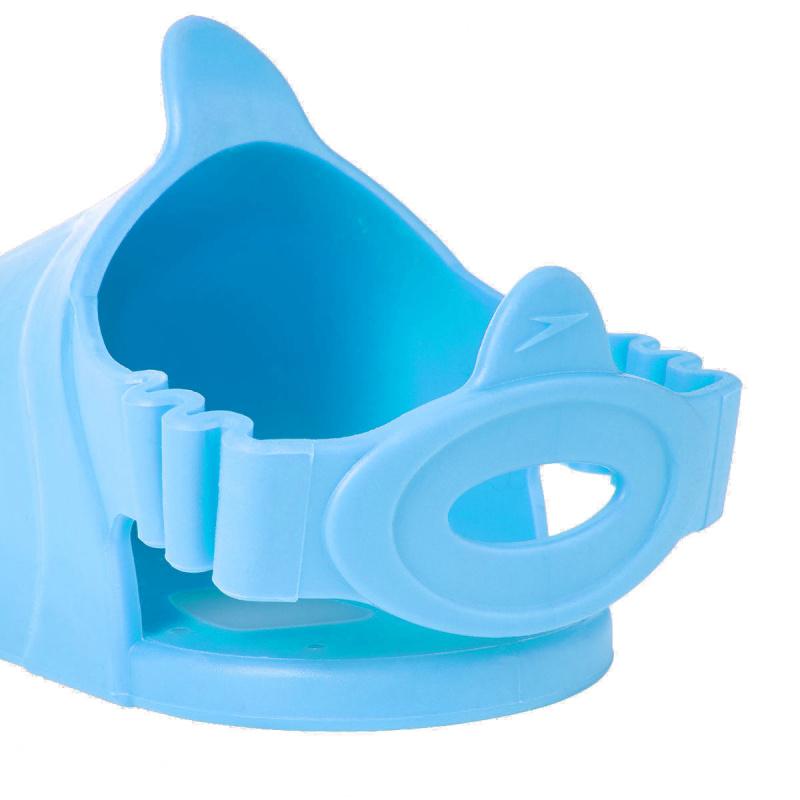 少年水中呼吸浮潛三件套裝 - 藍