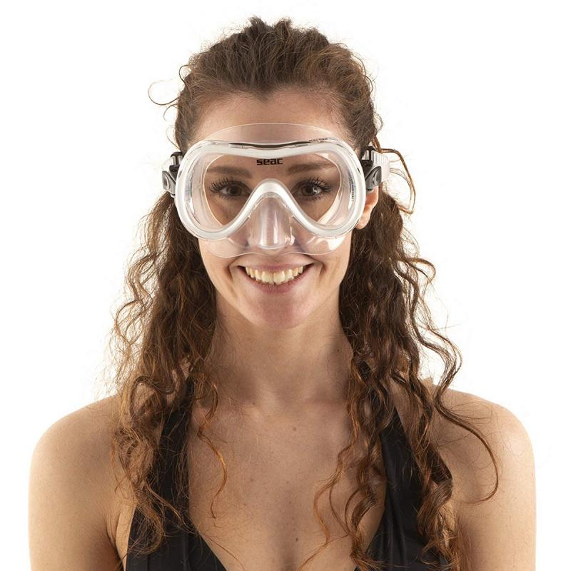 Salina 成人浮潛鏡 - 白
