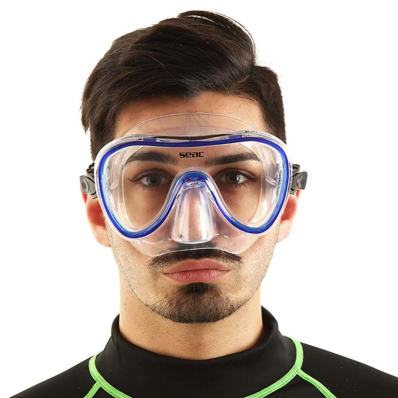 Salina 成人浮潛鏡 - 藍