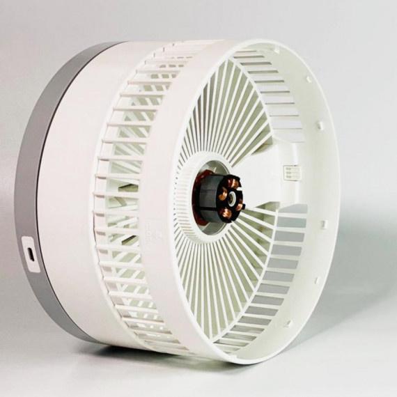 Exo-dus FOLD 無線座枱摺疊風扇 - 白