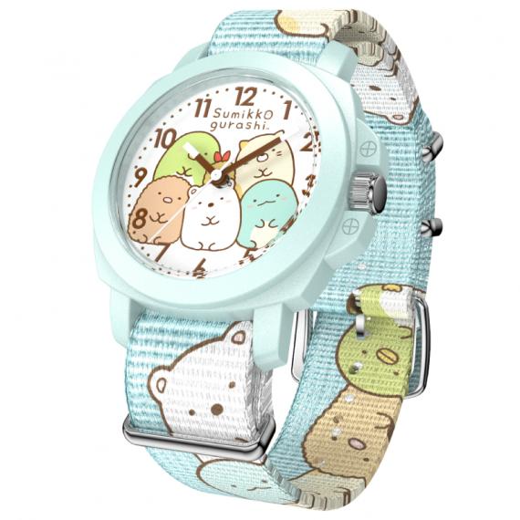小童八達通手錶 - 角落生物 淺藍