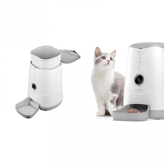 智能寵物餵食器 (鏡頭版) - 白