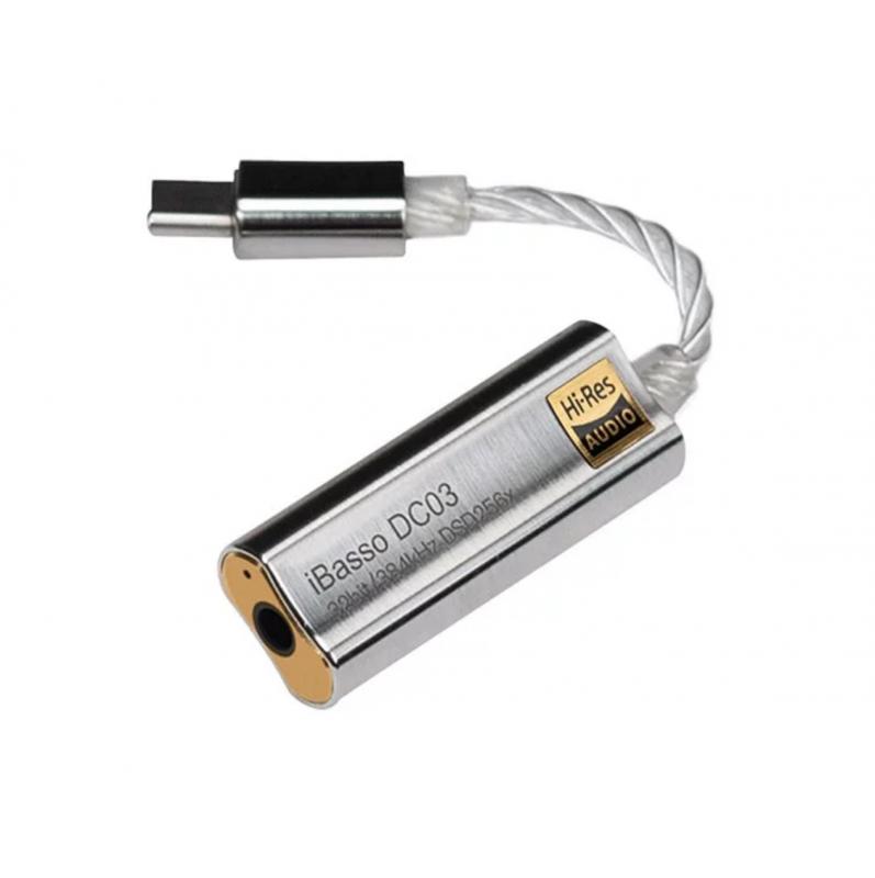 iBasso DC03 HiFi 解碼耳擴線 (雙DAC)