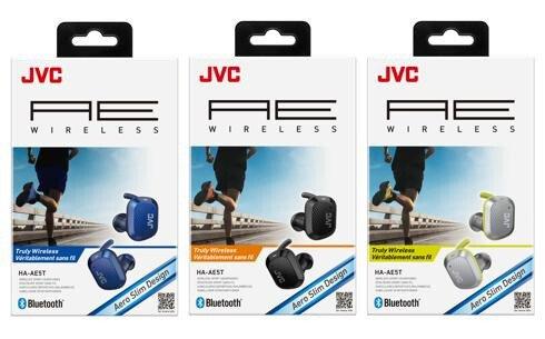 JVC 運動型真無線耳機 HA-AE5T