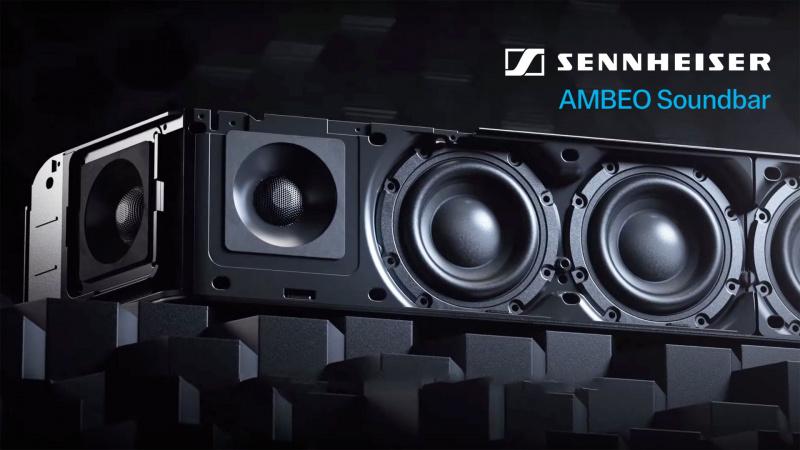 Sennheiser AMBEO #Soundbar 📍[香港行貨]🎵🔊🎼 (送Wall Mount)