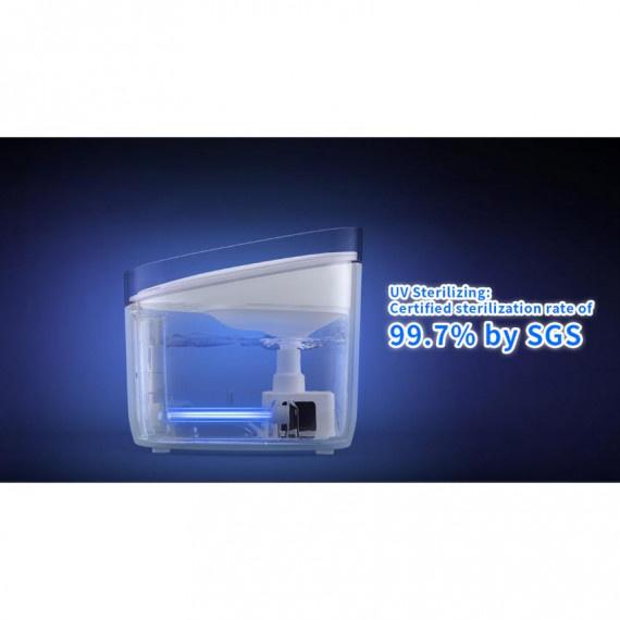 UV殺菌智能寵物飲水機 - 白