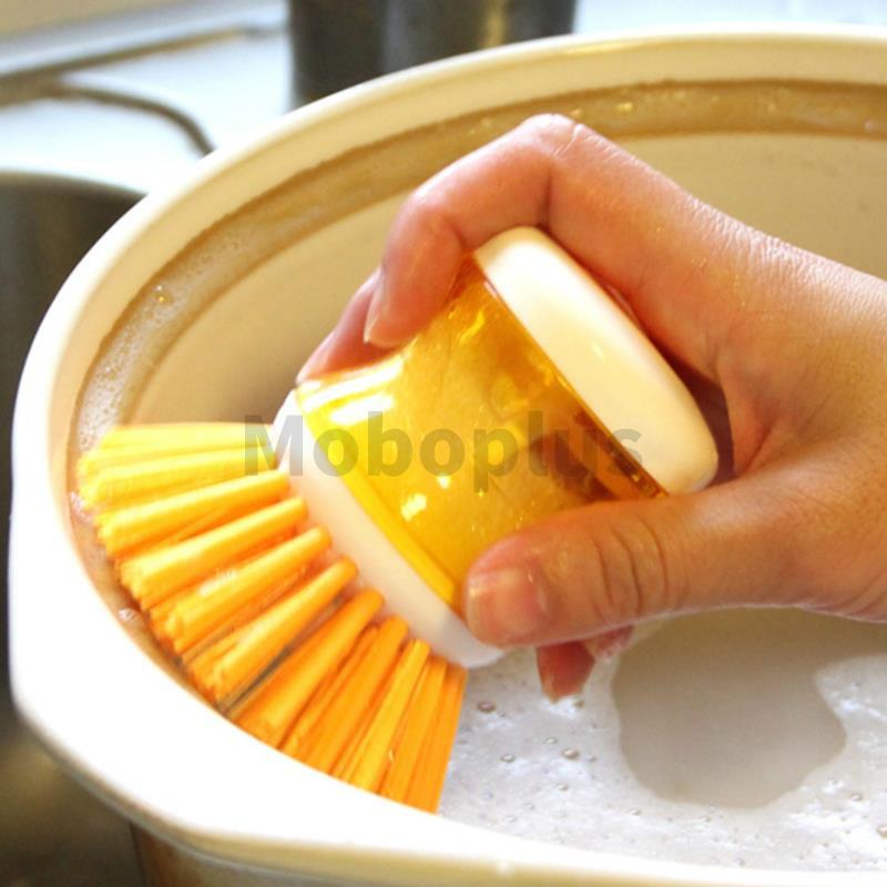M-Plus 日本Kitchen Garden 便攜壓液洗鍋刷