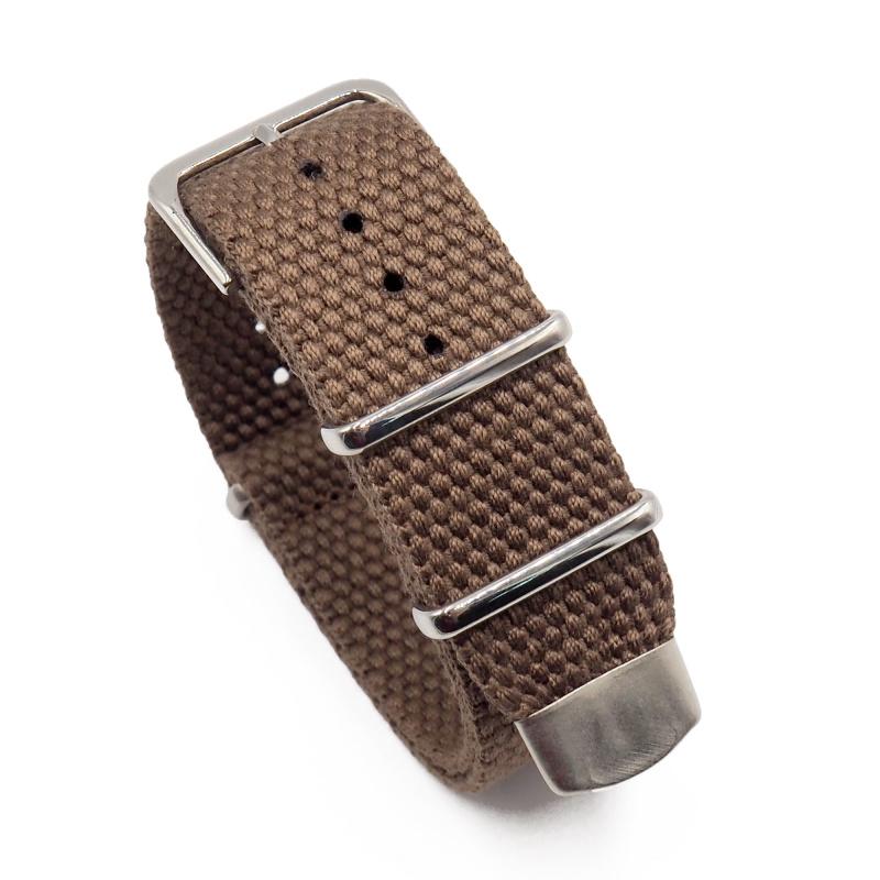 22mm 高品質帆布 Nato 軍帶錶帶, 5種顏色