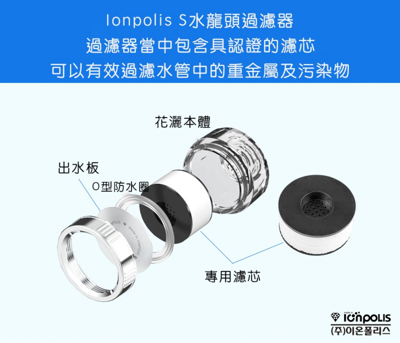 韓國 IONPOLIS 韓式淨水水龍頭 🇰🇷🚿🛀