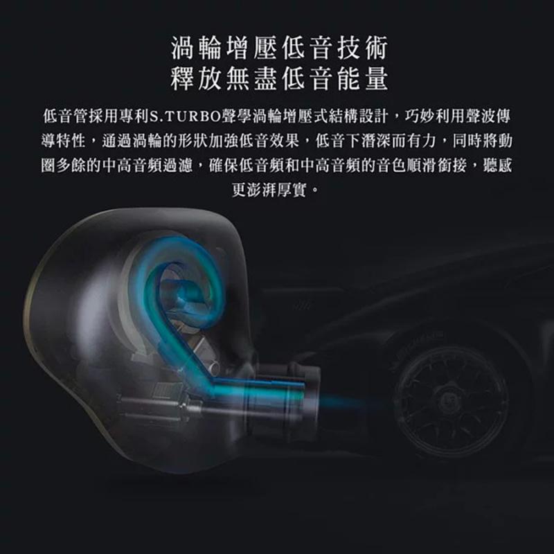 FiiO FH5 3鐵1圈耳機