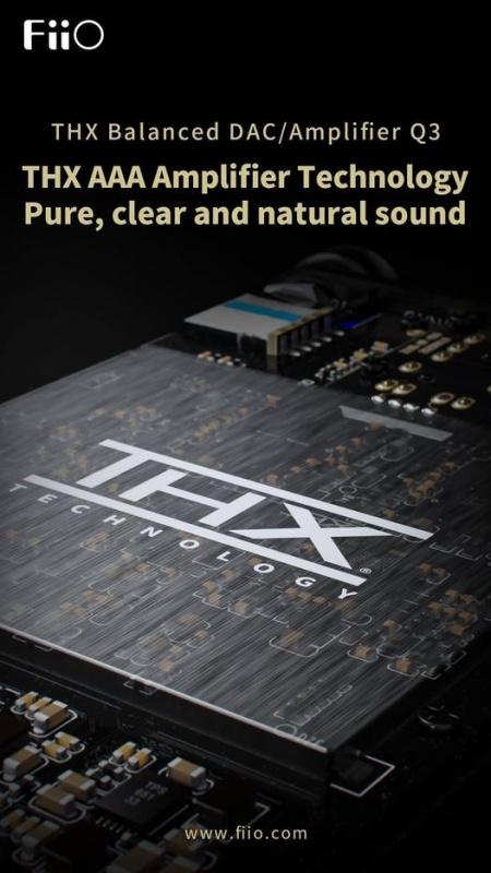 FiiO Q3 THX平衡解碼耳放
