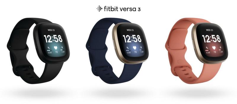 FITBIT VERSA 3 智慧手錶 + GPS