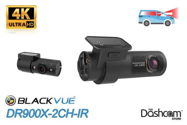 BlackVue DR900X-2CH-IR 4K雙鏡頭WiFi GPS行車記錄儀,帶前置和內置紅外內鏡👁🗨🚙