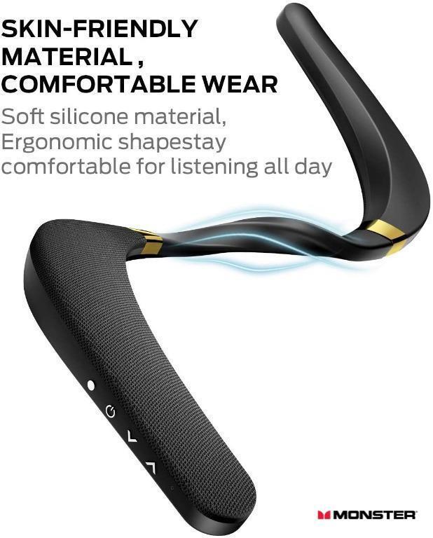 MONSTER - Boomerang穿戴式無線藍牙智能喇叭