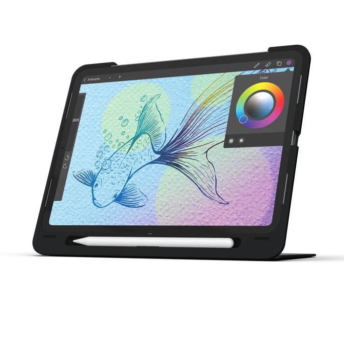 美國原裝 ZAGG Slim Book GO 無線鍵盤+保護套,內建立架 (For iPad Pro 11)