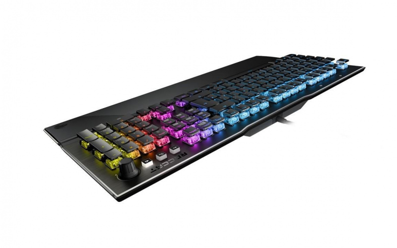 ROCCAT 機械遊戲鍵盤 Vulcan 121 Aimo 泰坦軸全彩光