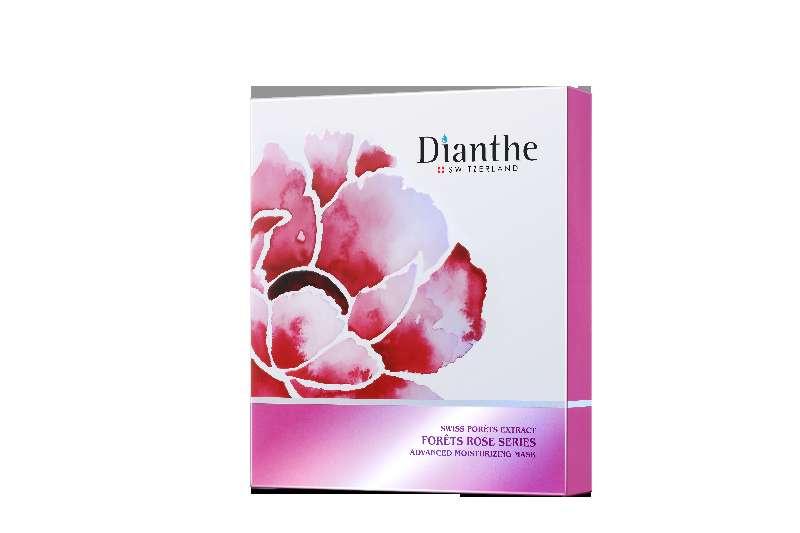 Dianthe - 玫瑰深層潤肌保濕面膜 (6片)