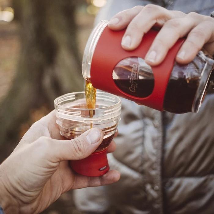 韓國Cafflano Go-Brew 便攜式咖啡沖泡兩用水樽 [6色]
