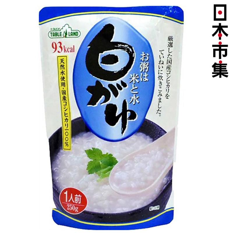 日本 丸善 越光米低卡 即食粥 250g【市集世界 - 日本市集】