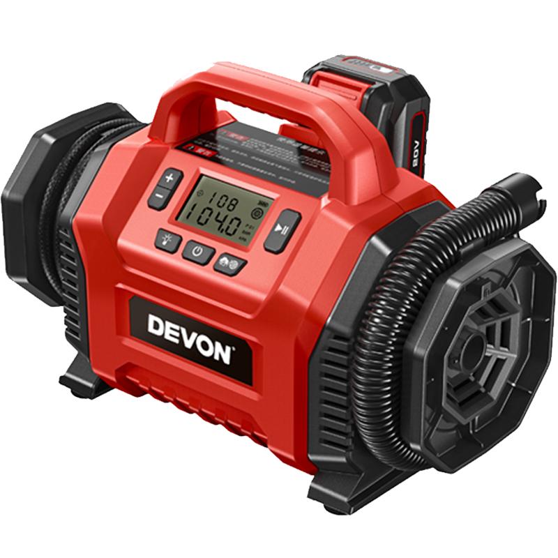 大有又有新產品 5940-Li-20 (20V鋰電雙功能充氣泵)