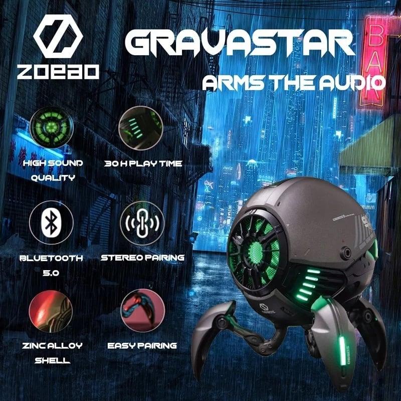 ZOEAO Gravastar 重力星球無線藍芽5.0喇叭