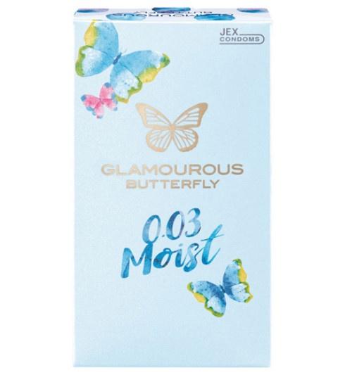 魅力蝴蝶 0.03 超滑 10個/盒