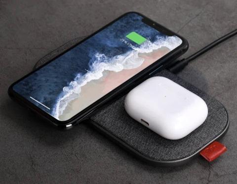 美國 Slicecharge 3 Hub Edition 四合一無線充電器(Grey)