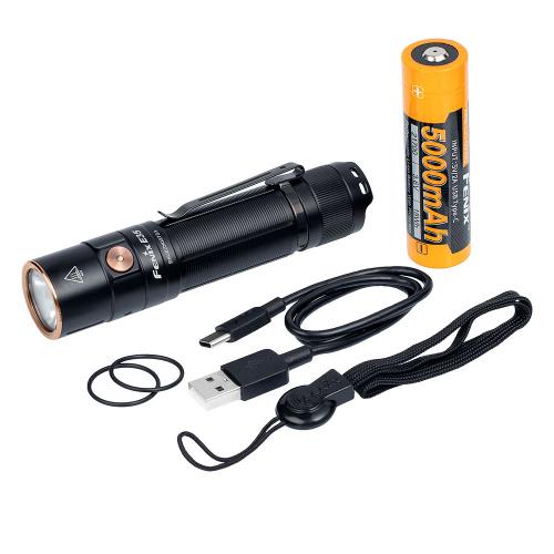 Fenix E35 V3 3000lm USB-C充電電筒