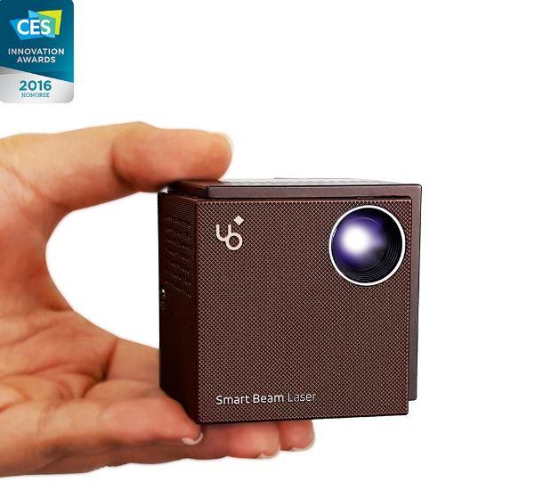 UO Smart Beam Laser NX 微型投影機 (黑棕)+ 超值配件組📽🎥