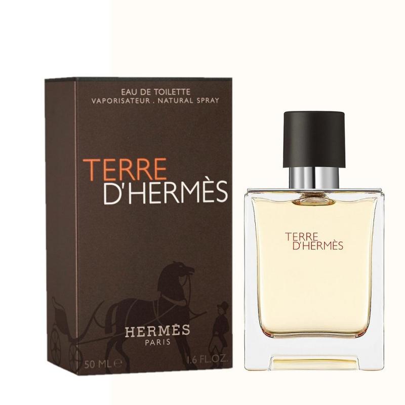 HERMES 愛馬仕 TERRE D'HERMES 大地男士淡香水 50ml