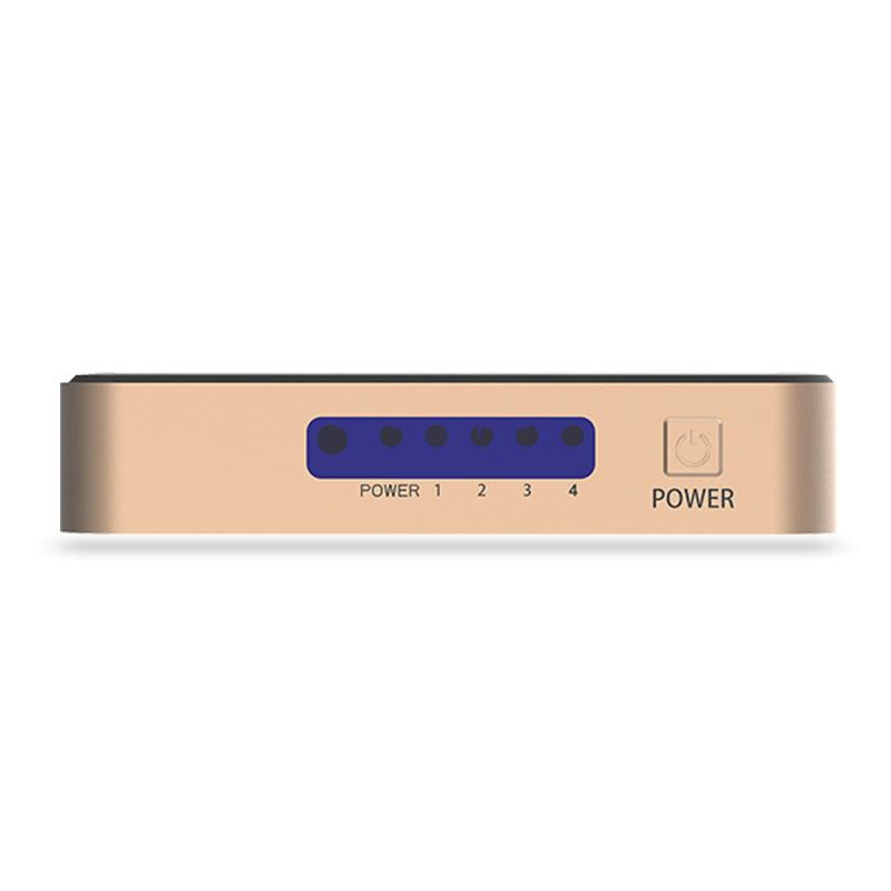 Vention 1進4出HDMI分配器[ACCG0]