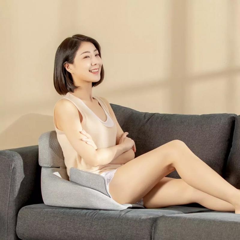 小米 摩摩噠 腰臀一體按摩坐墊 灰色 SX352