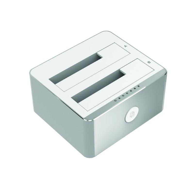 """Unitek Y-3027 USB3.1 to SATA6G 2.5""""/3.5"""" Dual Bay Station 【行貨保養】"""