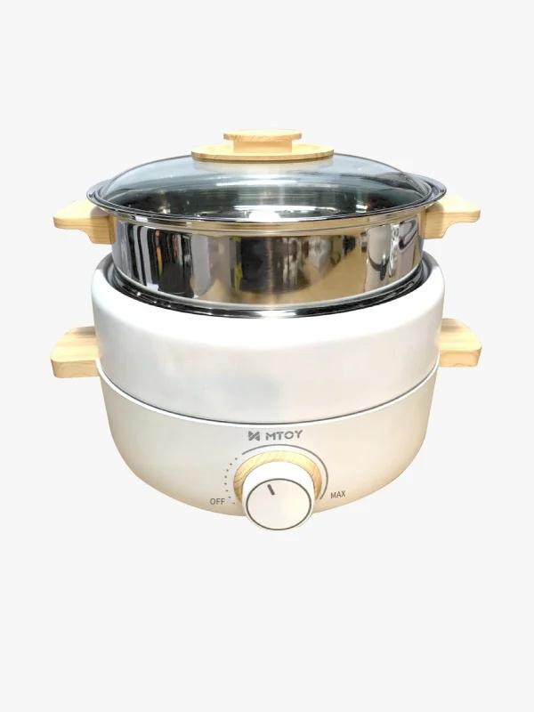 日本 MTOY 「YUMBO」三合一多功能電熱鍋
