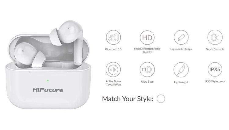 HiFuture TRUEAIR ANC 降噪真無線耳機🎶🎧