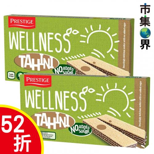 歐洲Prestige 無添加糖 葵花籽醬威化餅135g (2件裝)