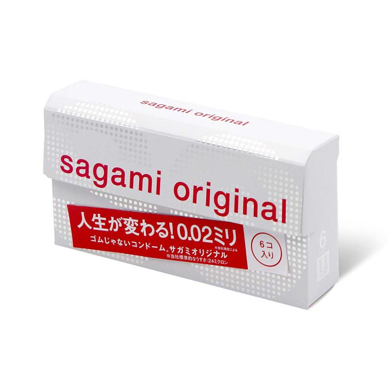 Sagami Original 相模原創 0.02 (第二代) 6 片裝 PU 安全套