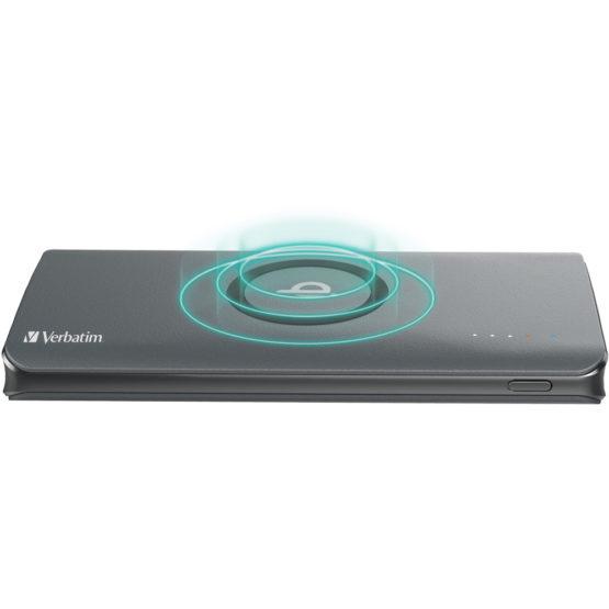 Verbatim Qi 10W QC3.0+PD 10000mAh Battery (65936/65937) 【行貨保養】