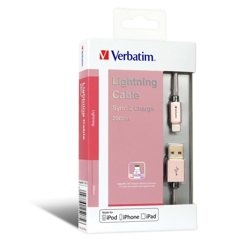 Verbatim Metallic Lightning Cable 30cm 【行貨保養】