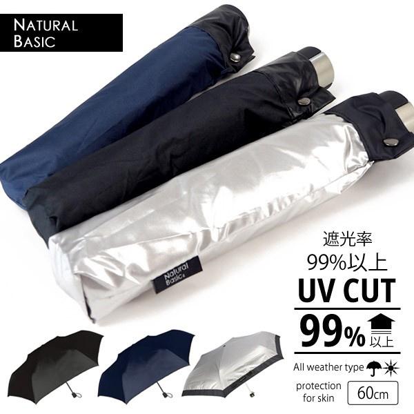 日本NATURAL BASIC防曬隔熱折傘 - Palasol 60cm(big size)
