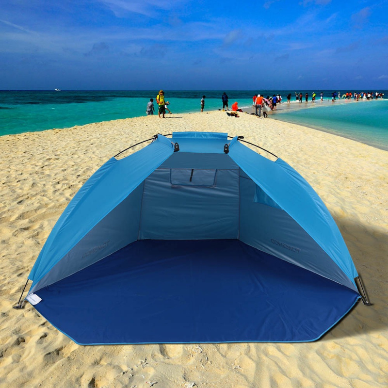 TOMSHOO戶外運動垂釣野餐沙灘公園遮陽帳篷