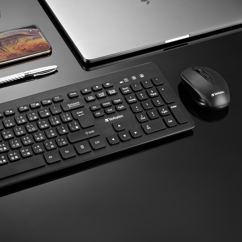 Verbatim Wireless Keyboard & Mouse Combo 【行貨保養】
