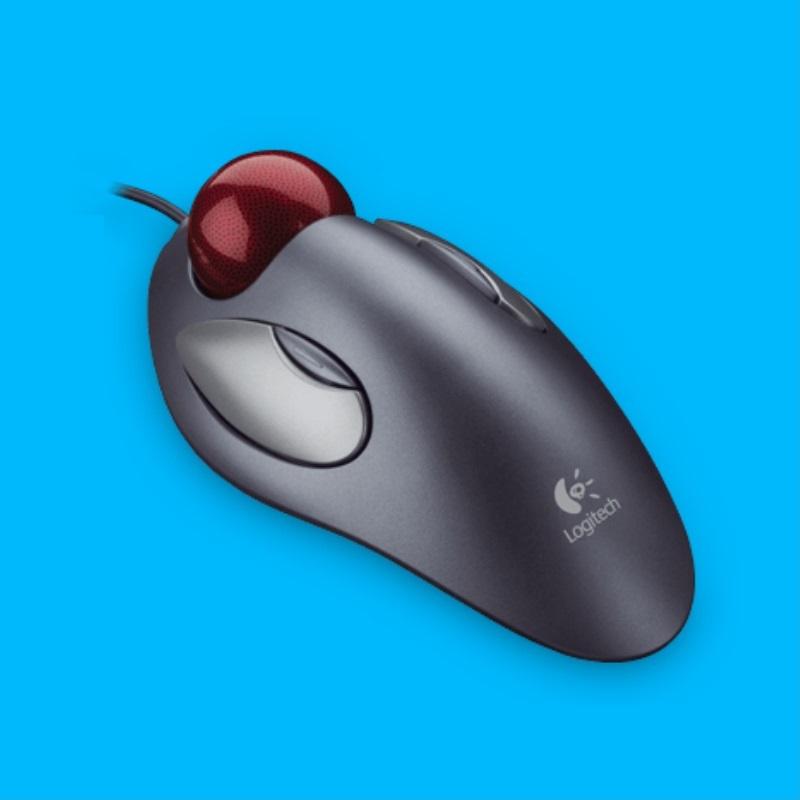 Logitech 木星軌跡球 Marble Mouse