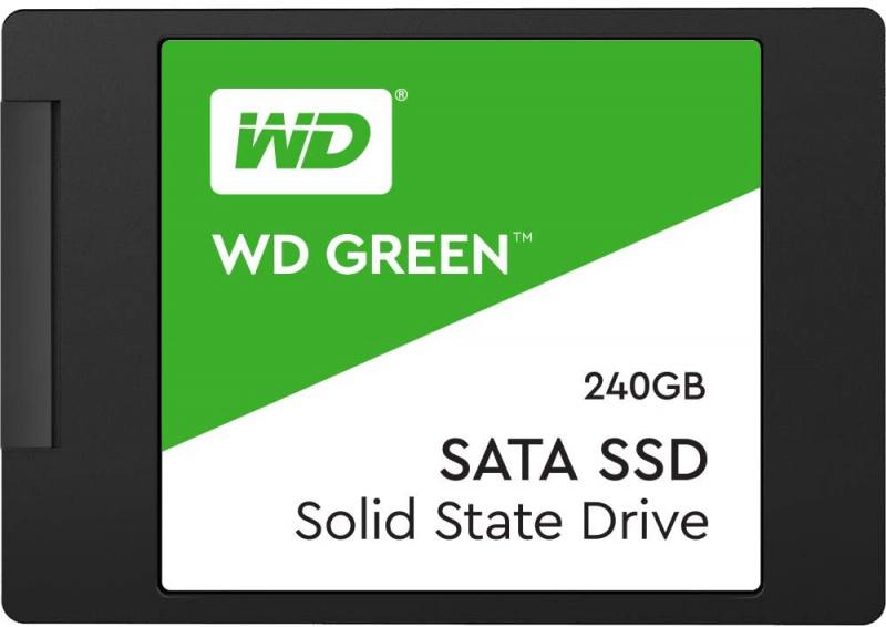 "Western Digital 2.5"" WD Green PC SSD 240GB - WDS240G2G0A 【行貨保養】"