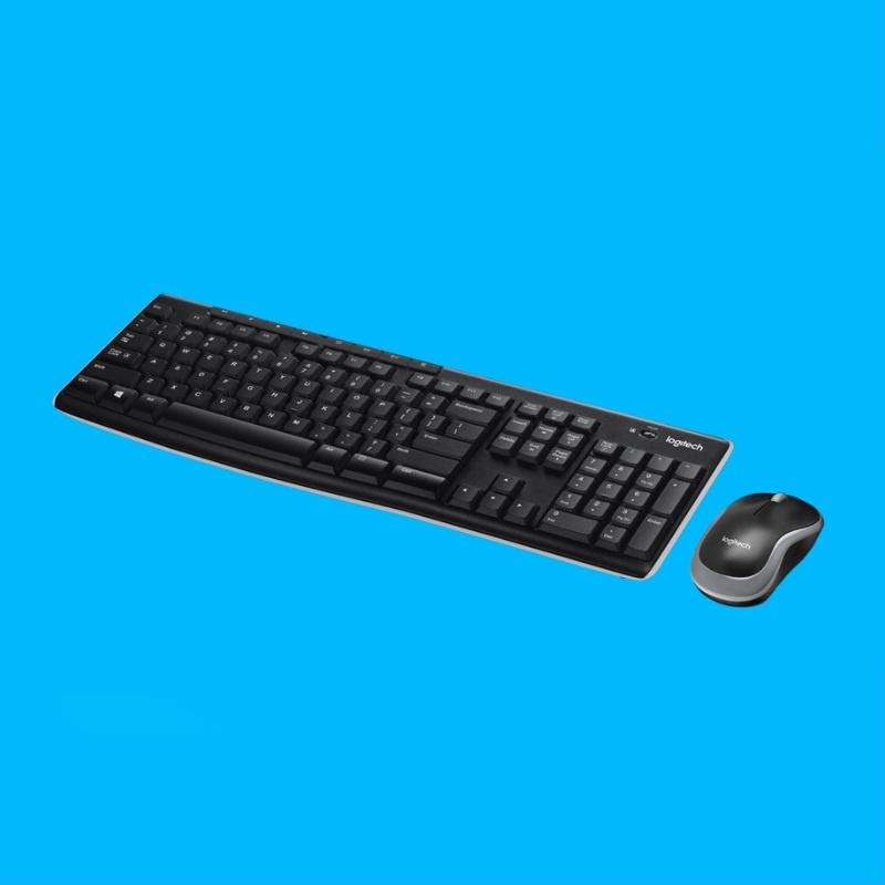 Logitech MK270r 黑色 - 英文鍵盤