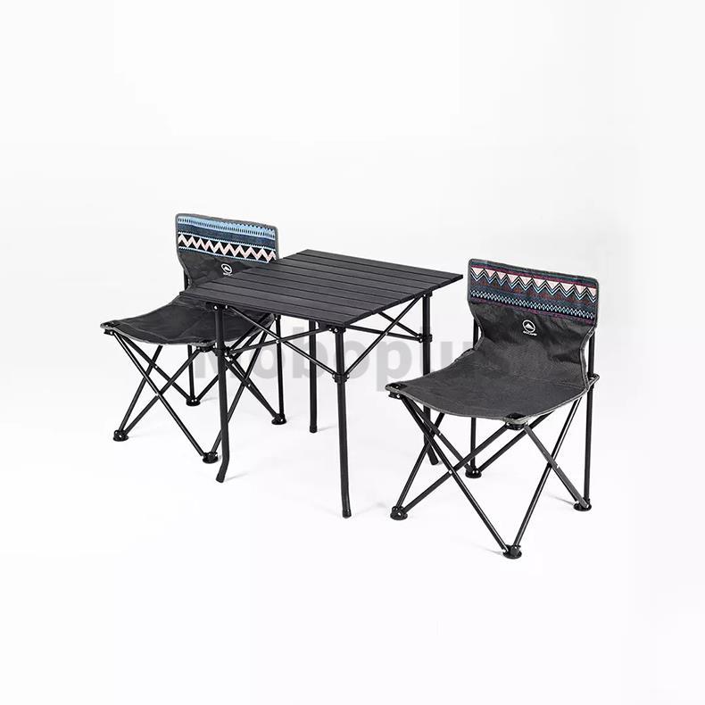 小米有品 GOCAMP 摺疊野營桌椅三件套