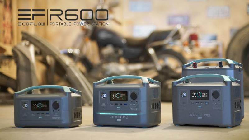 ECOFLOW River 600【輸出高一倍!全新流動電能站 🔋 登場!】