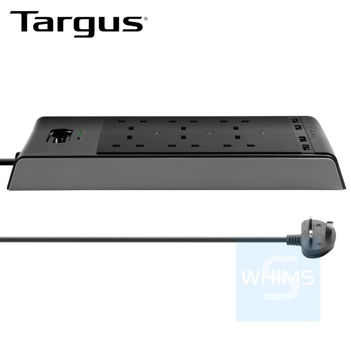 Targus 智慧防雷6位拖板 APS11AP